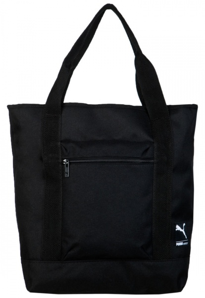 Bolso Negro Puma Foundation