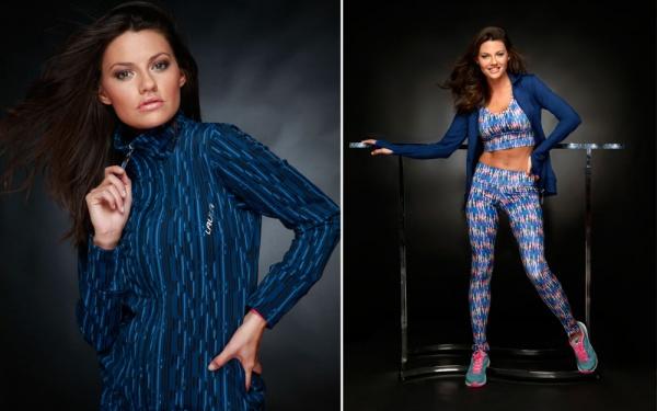 LAULA -  conjunto deportivo azul para mujer invierno 2015