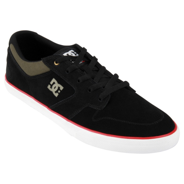 ZAPATILLAS NEGRAS DC SHOES NYJAH VULC 2015