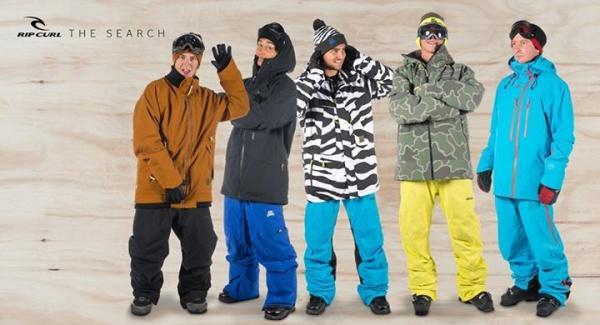 Conjuntos Rip Curl para la nieve hombre invierno 2015