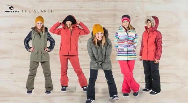 Conjuntos Rip Curl para la nieve mujer invierno 2015