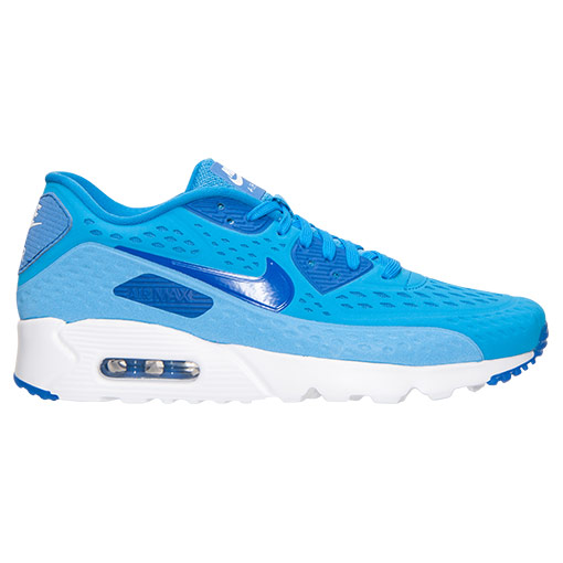 Zapatillas azules deportivas Nike Air Max 90 Ultra Breathe 2015-2016