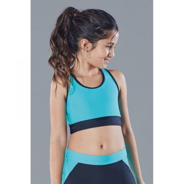 1e34f4340e680 Ailyke Ropa deportiva top para niñas Verano 2016