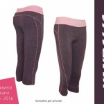 Calzas para entrenar Vandalia mujer primavera verano 2016