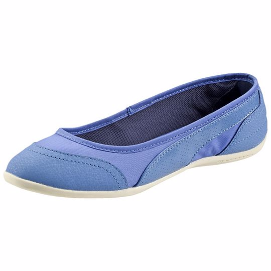 Zapatillas Ballerinas azules Puma Star mujer 2016