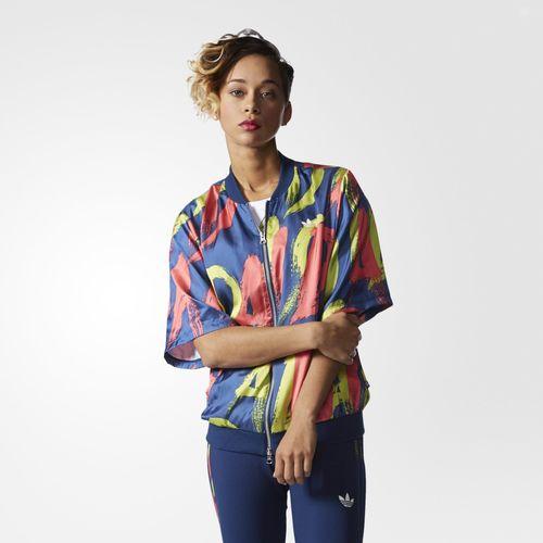 Adidas - Colección Originals Paris campera estampada Mujer 2016