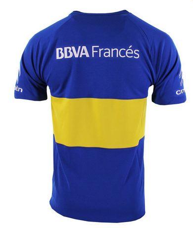 Nueva camiseta Nike de Boca espalda temporada 2016