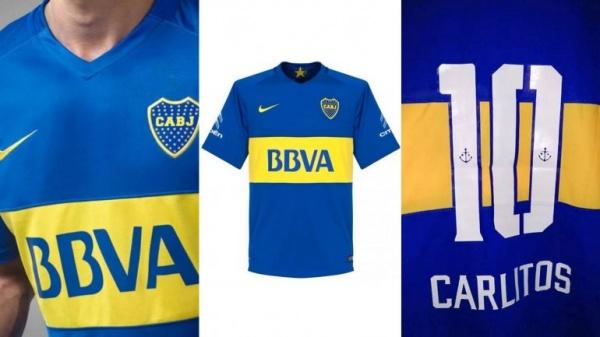 Nueva camiseta Nike de Boca temporada 2016