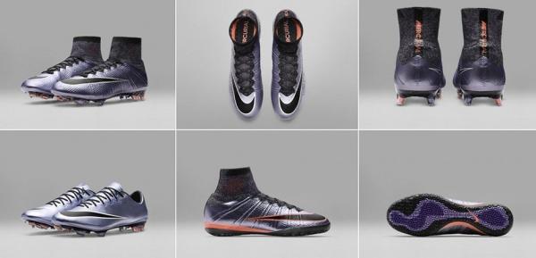 Nike Mercurial en lila urbano botines 2016