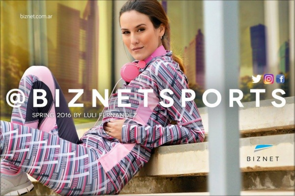 Biznet - Conjuntos deportivorosa estampado Mujer Primavera 2016