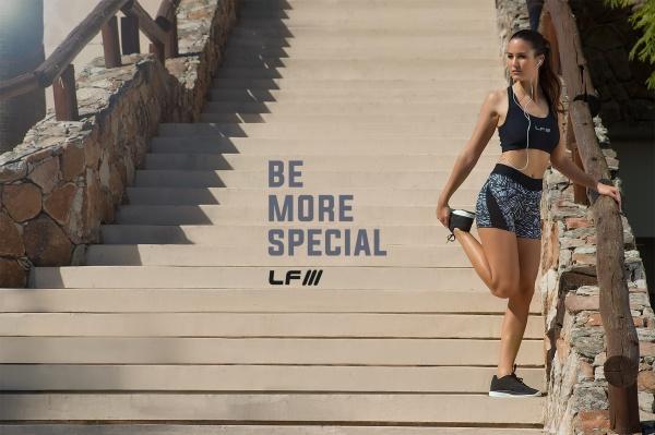 ladyfit calza corta estampada deportiva femenina primavera verano 2017