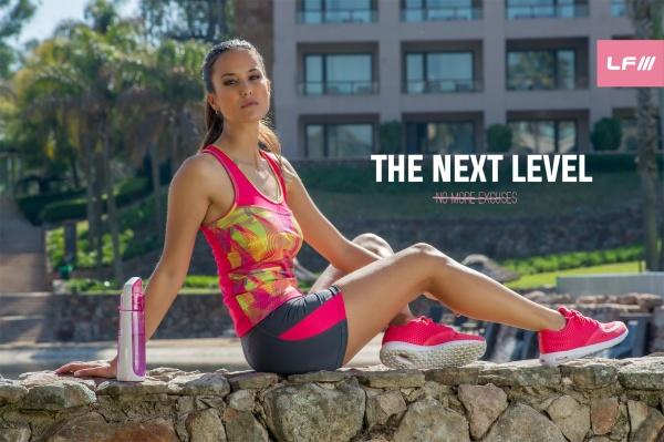 ladyfit musculosa estampada deportiva femenina primavera verano 2017