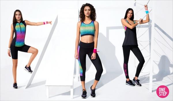 one step coleccion aerobic mujer verano 2017