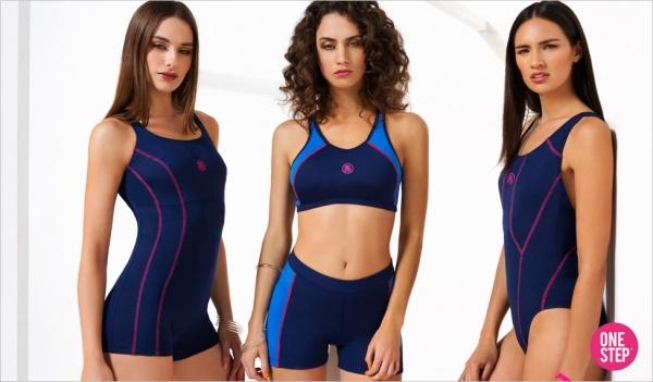 one step trajes de bano deportivos mujer verano 2017