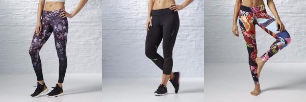 reebok coleccion calzas training mujer 2017