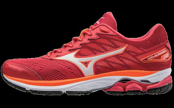 mizuno zapatillas deportivas rojas running wave rider 20 2017