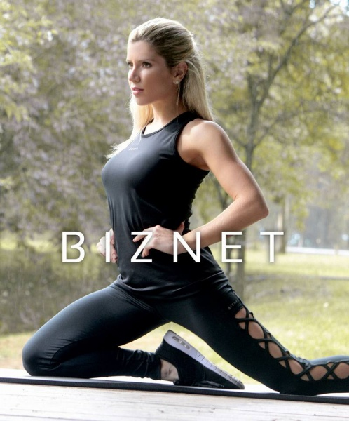 BIZNET - Conjunto Deportivo negro Mujer Otoño Invierno 2017