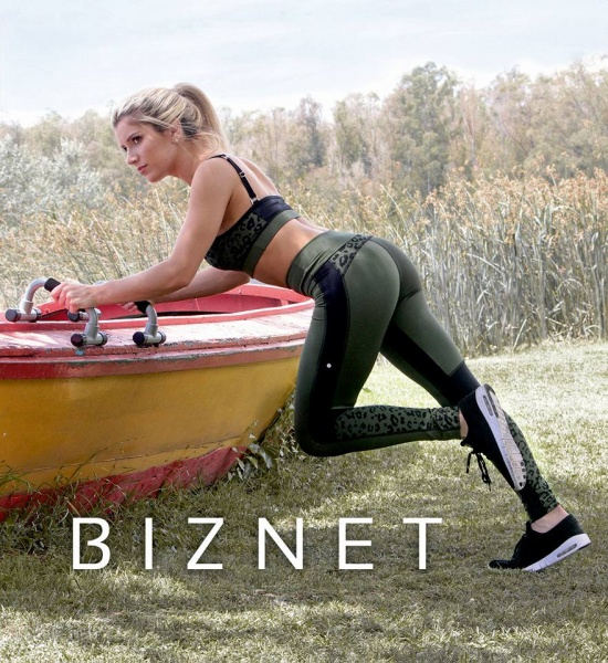 BIZNET - Conjunto Top Y calza Deportiva Mujer Otoño Invierno 2017