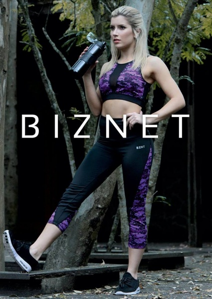 BIZNET - Top estampado Deportivo Mujer Otoño Invierno 2017