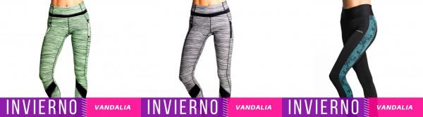 Vandalia - Colección Ropa Deportiva Mujer Invierno 2017