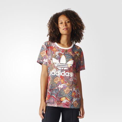 Adidas - Catalogo remera estampada Mujer Primavera Verano 2017