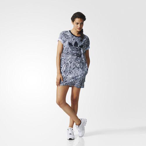 Adidas - Catalogo vestido estampado Mujer Primavera Verano 2017