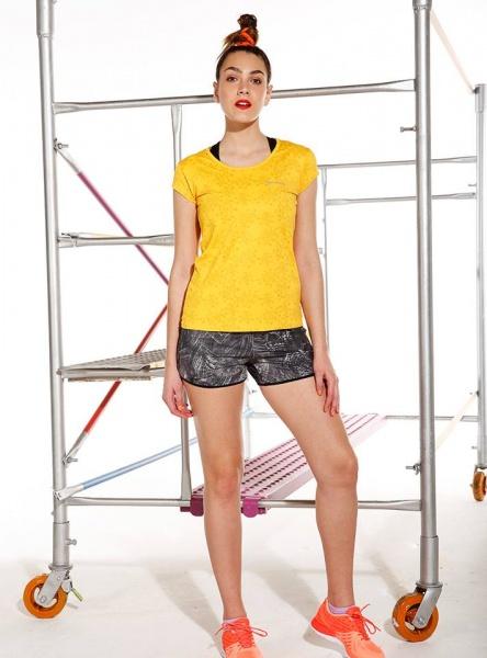Destreza Deportiva - Short estampado deportivo Fitness Mujer Verano 2018