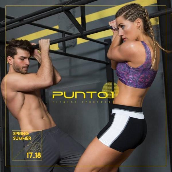 PUNTO1 - Colección Ropa Deportiva Hombre Mujer Primavera Verano 2018