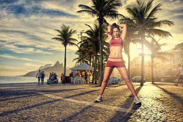 Kilowatt - Conjunto deportivo estampado Mujer Primavera Verano 2018