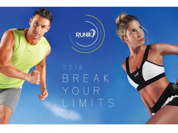 Runik - Lookbook Ropa Deportiva Hombre Mujer Verano 2018