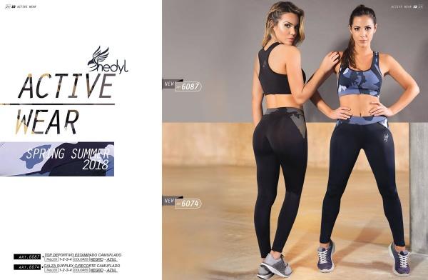 Shedyl - Top y calza Deportiva Mujer Primavera Verano 2018