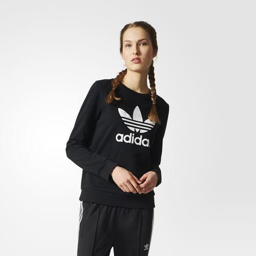 Adidas - Buzo Deportivo negro Mujer Invierno 2018