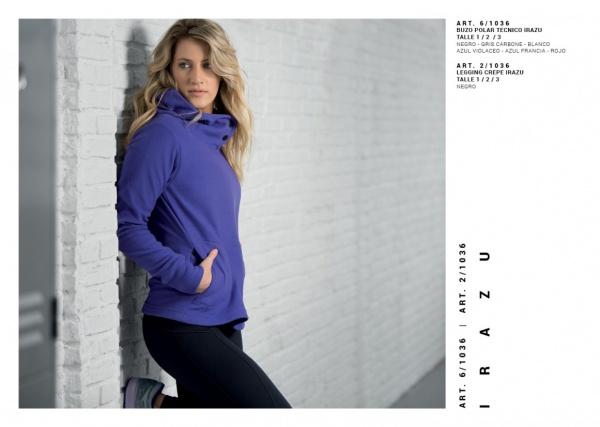 Punto 1 - Buzo polar Deportivo Colección mujer Otoño Invierno 2018