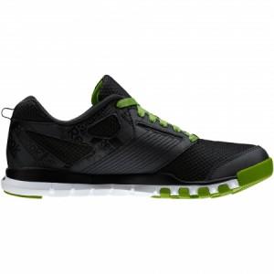 Zapatillas negras y verdes REEBOK SUBLITE TR 3.0 GP