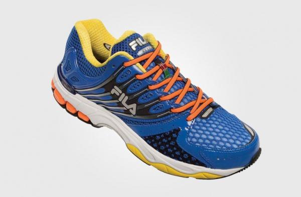FILA - Zapatillas para correr azul 2015