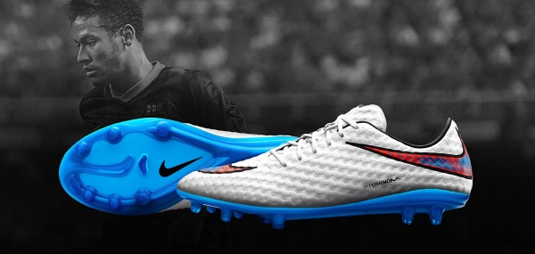 Botines Nike Hypervenom Liquid Diamond white 2015-2016