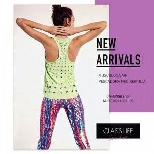 e320f7e0e Class Life – Colección indumentaria fitness – Verano 2016   MODA ...
