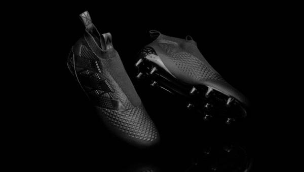 Adidas - Botines negros sin cordones Adidas Ace 16 GTI 2016