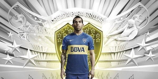 Nueva camiseta Nike de tevez Boca temporada 2016