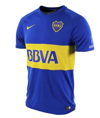 Nuevo modelo camiseta Nike de Boca temporada 2016