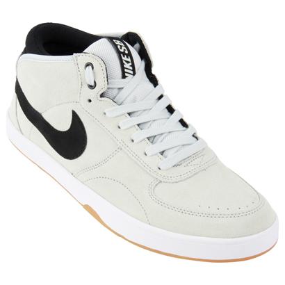 Zapatillas urbanas blancas Nike SB Mavrk Mid 3 2016 | MODA DEPORTIVA