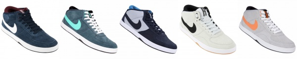 Dar una vuelta Anónimo Quizás  Coleccion zapatillas urbanas Nike SB Mavrk Mid 3 2016 | MODA DEPORTIVA