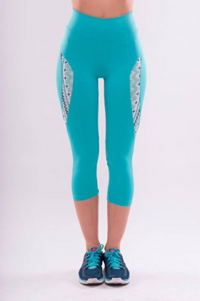 pantalones capri deportivos para mujer 2016  53f18e53ea97