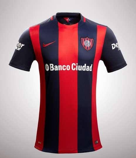Nueva camiseta de san lorenzo de almagro temporada 2016