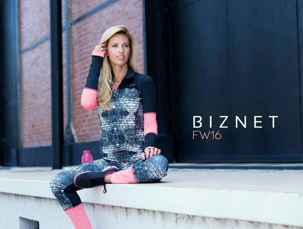 BIZNET - Colección Ropa Deportiva estampada Mujer Otoño Invierno 2016
