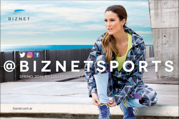 Biznet - Conjuntos deportivo estampado Mujer Primavera 2016