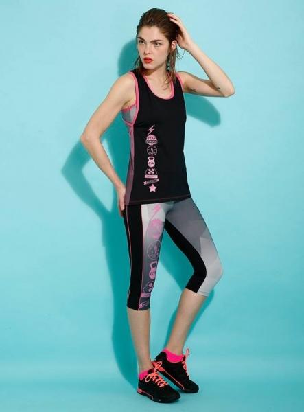 Destreza deportiva - Ropa Crossfit musculosa y claza Mujer Verano 2017