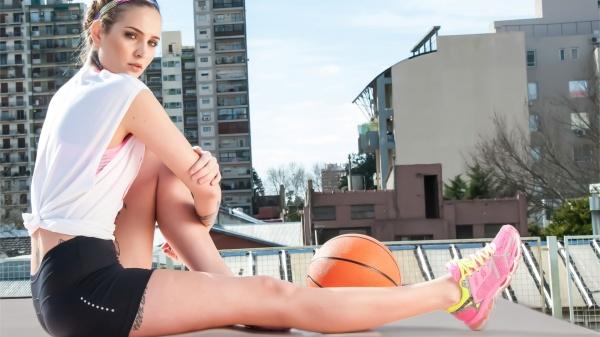 Aptitud - Calza corta negra deportiva Mujer Primavera verano 2016