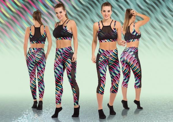 Cocot Sport - Calzas largas y capris estampadas Mujer Primavera Verano 2017