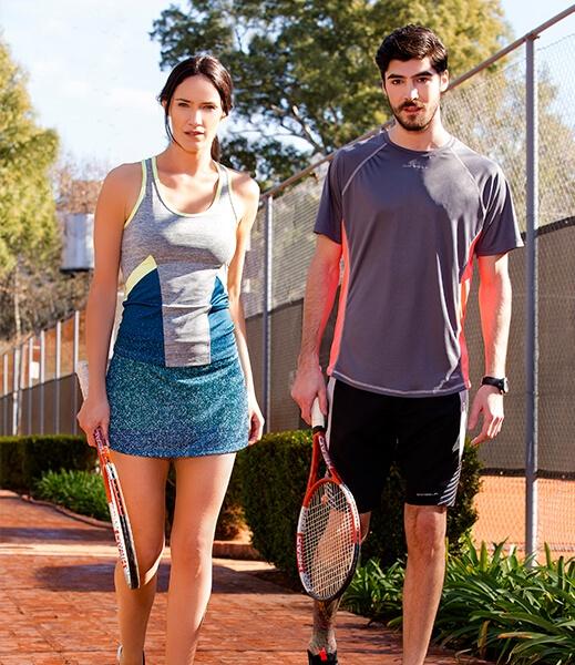 danseur conjunto deportivo tenis hombre y mujer primavera verano 2017